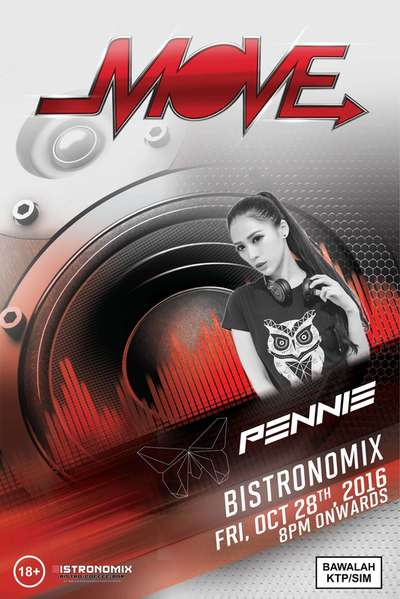 Live Dj Female at Bistronomix