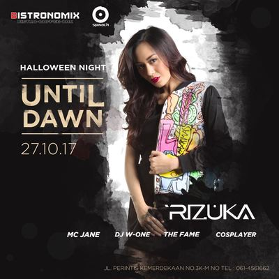 Halloween Night Until Dawn at Bistronomix