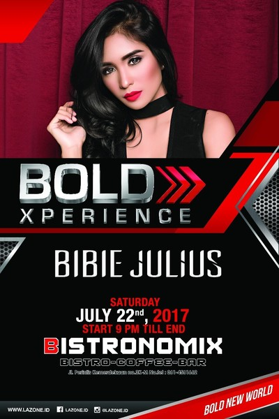 Bibie Julies on Bold Xperience at Bistronomix