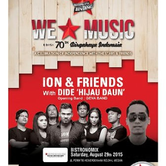 Ion & Friends with Dide Hijau Daun at Bistronomix